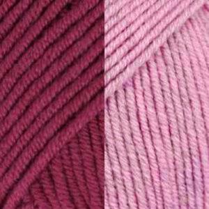 Bordeaux-Bubblegum Pink